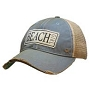 Vintage Trucker Hat Beach Girl