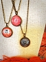 Global Fashion Mission Vintage World Stamp Necklace
